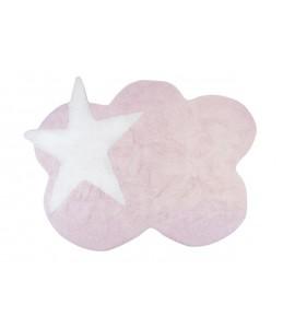 Alfombra mimosa rosa
