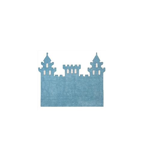 Alfombra castillo celeste