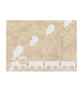 Alfombra tren beige