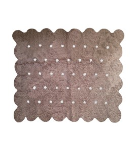 Alfombra cookie taupe