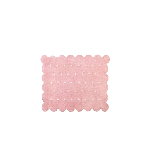 Alfombra cookie rosa
