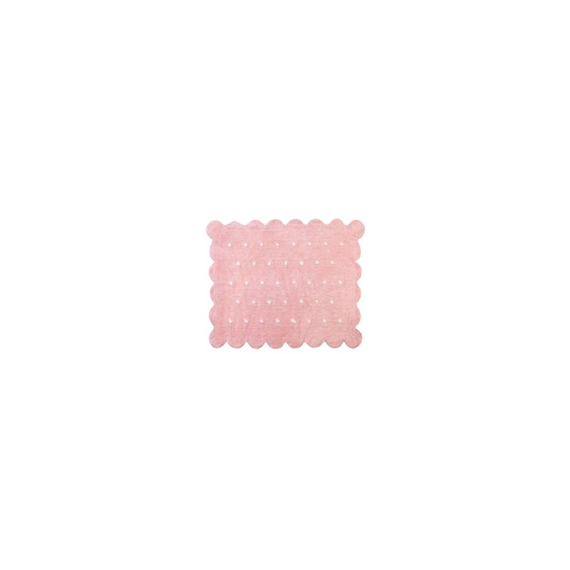 Alfombra cookie rosa pequedeco - Alfombra infantil rosa ...