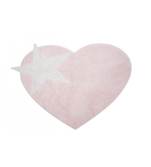 Alfombra peace rosa