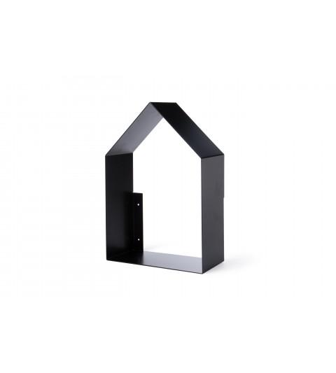 Estante casa negra alta -tresxics