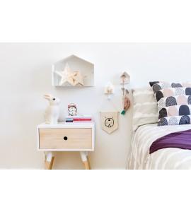 Estante casa blanca-tresxics